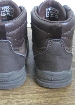 Демисезонные ботинки geox amphibiox р.277 фото