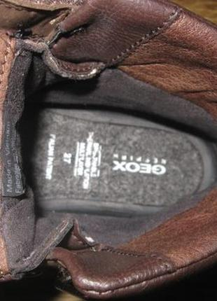 Демисезонные ботинки geox amphibiox р.279 фото