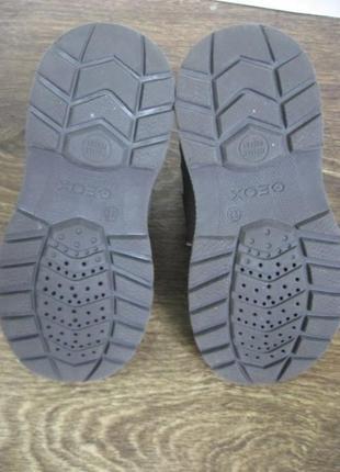 Демисезонные ботинки geox amphibiox р.2710 фото