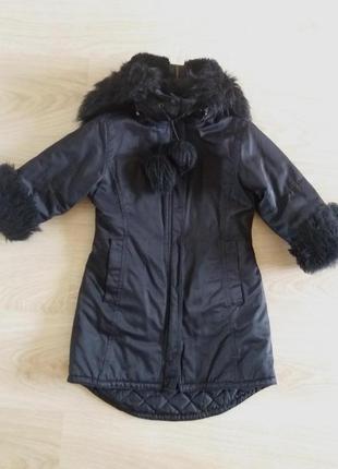 Пальто демисезонное 4-5 лет