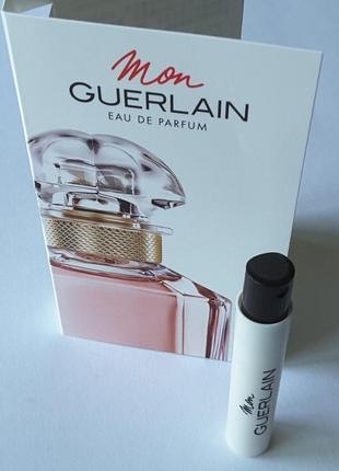 Пробник парфюмированой воды 0,7 мл , mon guerlain, франция