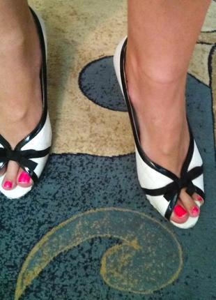 Стильные брендовые летние туфли, размер 41
