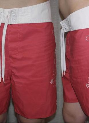 Op ocean pacific пляжные шорты обалденные для плаванья узор цветы1 фото