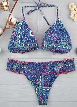 !!!sale!!! стильный купальник с трусиками-бикини (80c-85b) низ m,l от tezenis