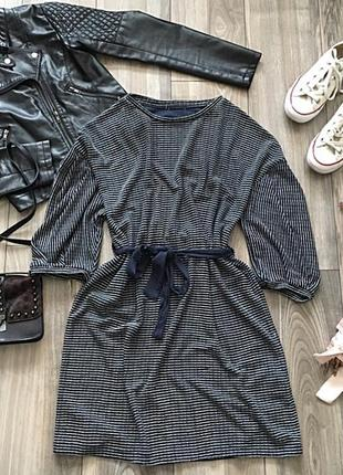 Очень клевое платье под поясок)