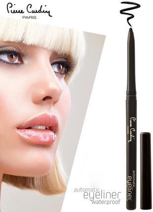 Автоматический карандаш для глаз pierre cardin black/черный