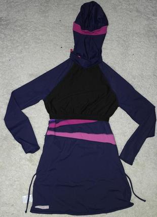 Zoggs буркини мусульманский купальник платье свим дресс4 фото