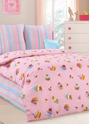 Сластена - натуральное постельное белья для девочек