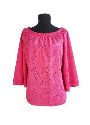 Красивая блуза из шитья tu.