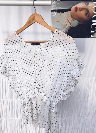 Блуза в горошок limited