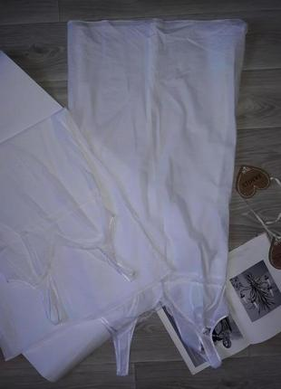 M&s тонкая беленькая ночная рубашка. сток.