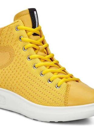 75158614b Желтые женские кроссовки Ecco 2019 - купить недорого вещи в интернет ...