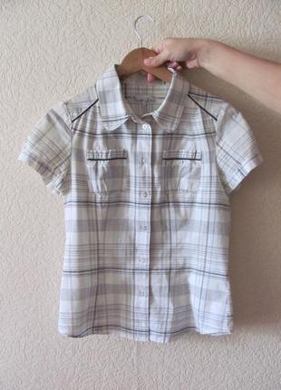 Рубашка soya pp s в клетку