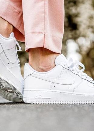 Женские кроссовки nike air force f1
