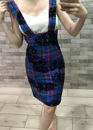 Классная юбка на высокой талии