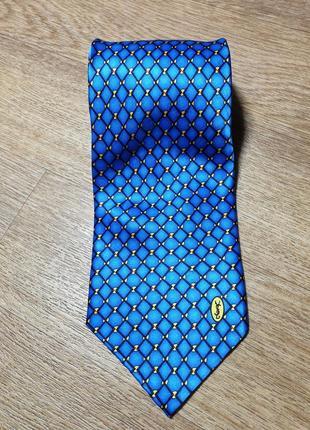 Шёлковый галстук yves saint laurent