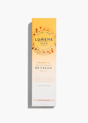 Lumene valo bright boost bb cream spf20 # 1 light - medium оригинал  финляндия