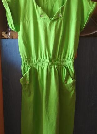 Трикотажное платье spring fashion,  р-р 36(s)