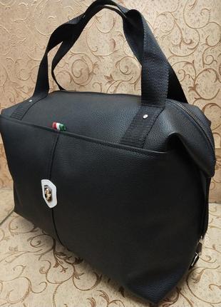 Жіноча сумка шкірзам