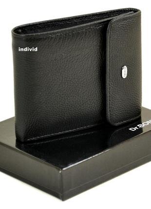 Мужской кошелек dr. bond натуральная кожа. кожаный бумажник оригинал портмоне бонд кожа