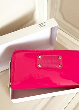 Стильный розовый кошелёк