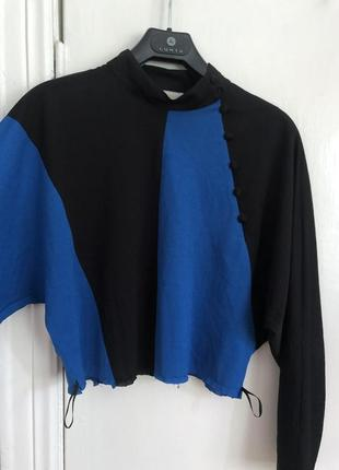 Ассиметрический топ блузка
