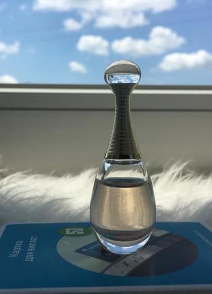 Туалетная вода jadore, 5ml, оригинал