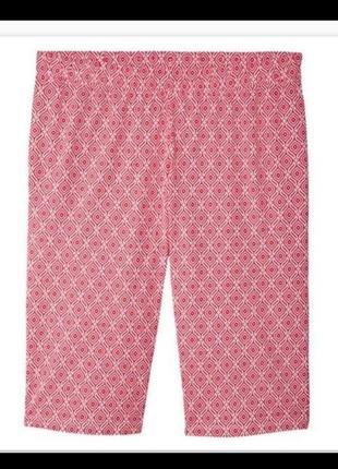 Хлопковая пижама футболка и капри, бриджи большой размер esmara5 фото