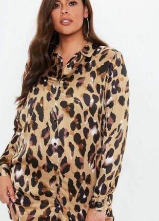 Платье рубашка missguided1 фото