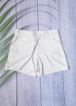 Женские шорты белые мини лето пляж
