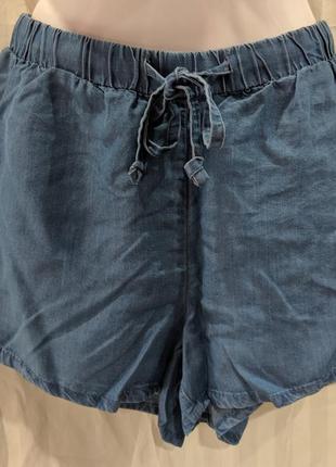 Легкие женские шорты под джинс р.38