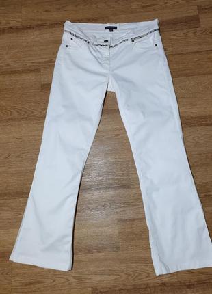 Белые джинсы burberry