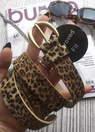 Леопардовый ремень