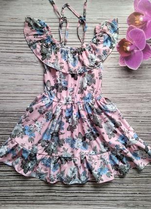 Красивое и легкое летнее платье