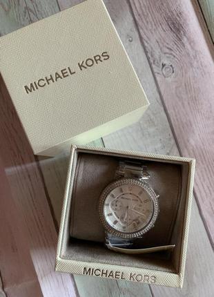Часы michael kors parker с хронографом