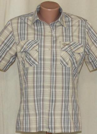 Треккинговая рубашка шведка outdoor женская размер l
