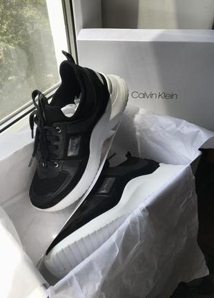 Кроссовки dad sneakers от calvin klein