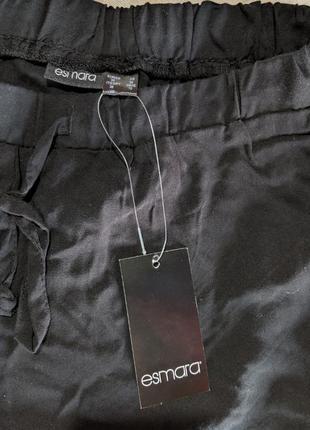 Черные летние короткие шорты р.362 фото