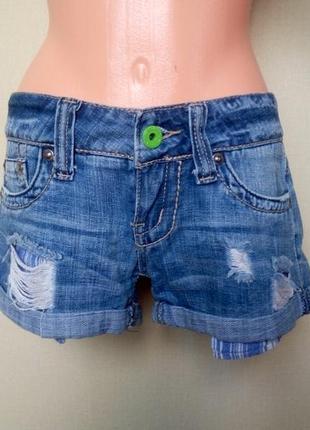Жіночі джинсові шорти/ женские джинсовые шорты hydraulic