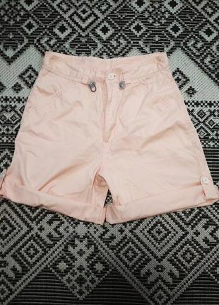 Классные шорты с высокой посадкой персикового цвета от casual woman, p. 42