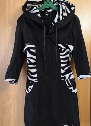 Лёгкий плащ -куртка classic, размер 46