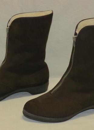 Сапоги ботинки morlands зимние на овчине разм.5 женские