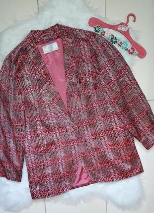Шикарный шелковый винтажный пиджак жакет винтаж werner graumann
