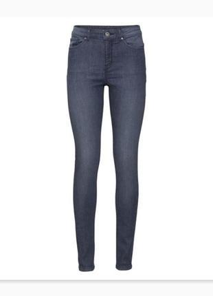 Качественные джинсы скинни средняя посадка esmara