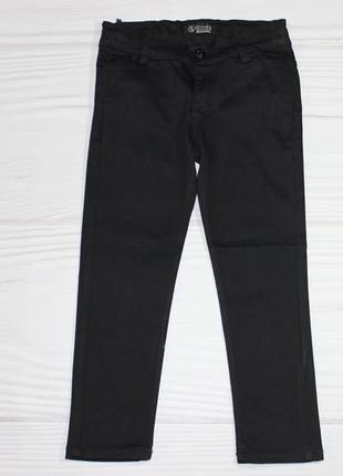 Школьные котоновые черные брюки, турция