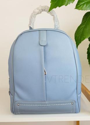 #3905 blue david jones вместительный стильный рюкзак!