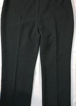 Брюки черные в полоску большой размер dorothy perkins