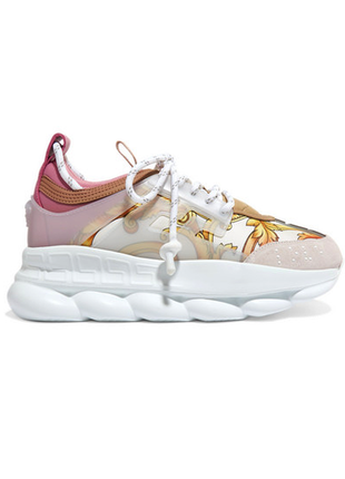 Versace chain reaction, white/pink