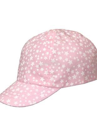 Розовая кепка в звезды для девочки, george, 30646