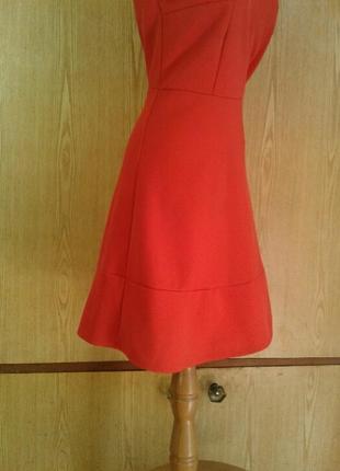 Рыже- красное платье ,l .9 фото